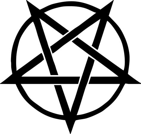 pentagram sigil die cut decal car window wall bumper phone