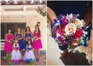 royal blue and pink wedding ideas 17 best images about royal blue royal blue and fuchsia