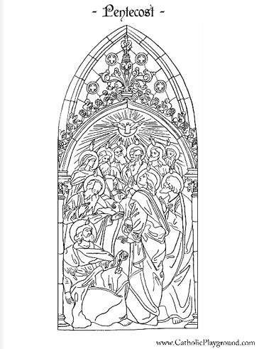 holy spirit pentecost coloring pages pentecost coloring page catholic playground