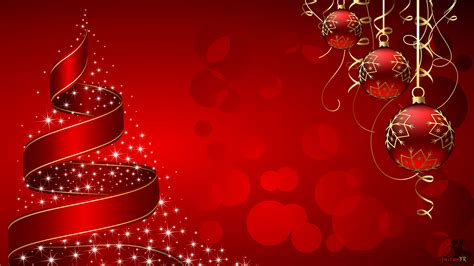 christmas wallpaper hd widescreen christmas balls and tree hd wallpapers widescreen red