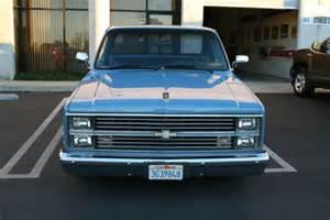 1984 chevy silverado c10 shortbed fleetside gmc