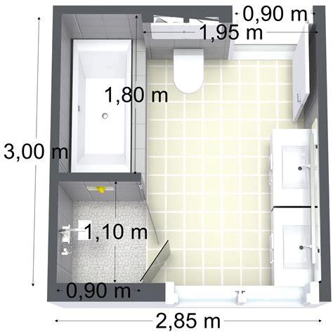 badezimmer 8 qm planen 3d plan av badet nr14 interi 248 rhjelp