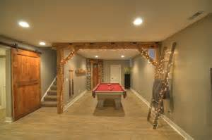 rustic finished basement ideas contemporary rustic finished basement with reclaimed barn beams wine room rustic basement