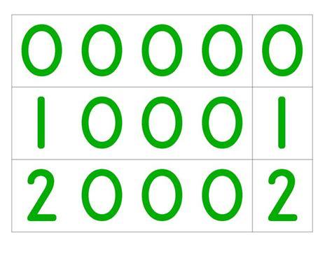 printable montessori number cards file large number cards pdf montessori album