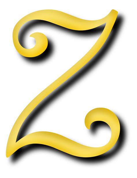 Letter Image Clipart Alphabet 13 Letter Z