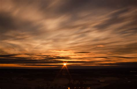 free images moving clouds of sunset at gibraltar rock wisconsin free