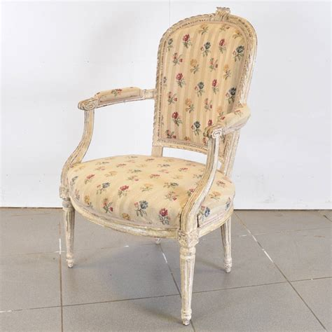 Furniture Armchairs by Set Of Louis Xvi Armchairs Antique Furniture