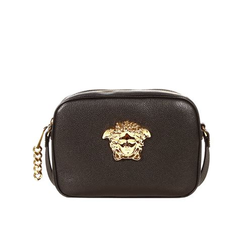 With Versace Purse by Versace Handbag Gramercy Cross In Leather With Medusa