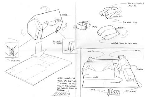 How To Make An Origami Hamster - origami house by hamster and cat on deviantart
