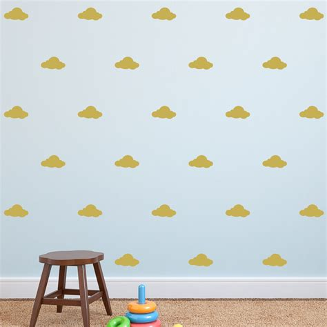 cloud stickers for walls cloud wall decal mini clouds wall decal with mini clouds wall decal wall decal