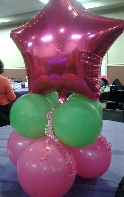 diy balloon centerpiece  stuff pinterest