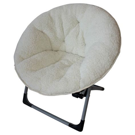 Sherpa Dish Chair by Circo Soft Kid S Disk Chair Target