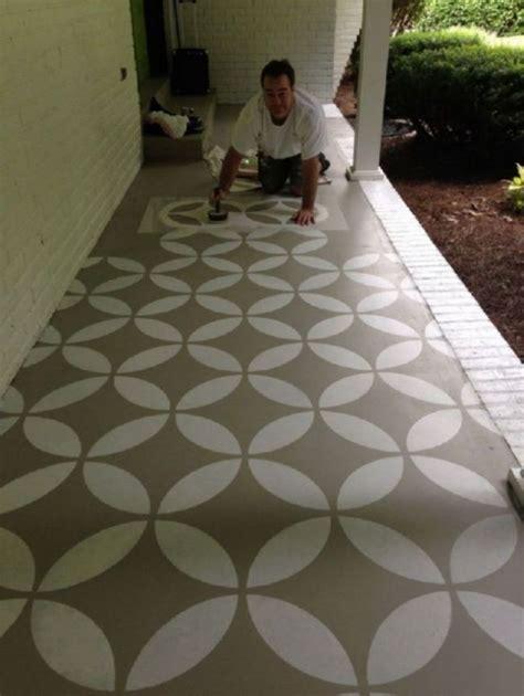 concrete patio paint colors ideas home ideas