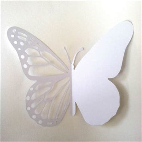 3d Butterfly Card Template by Butterfly D I Y Card Printable Paper Cut From Souzawebb