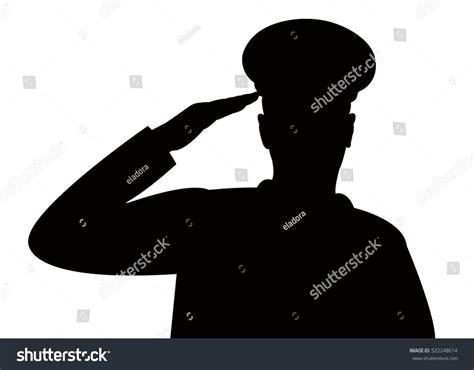 Saluting Clipart