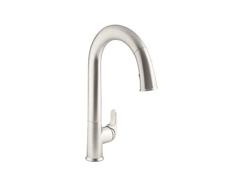 Kohler Touch Kitchen Faucet Kohler Touch Kitchen Faucet Kohler Fairfax Polished Chrome 1 Handle Pull Out Sink Counter