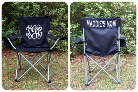 Softball Chair by Monogrammed Chair C Chair Softball By Poshprincessbows1