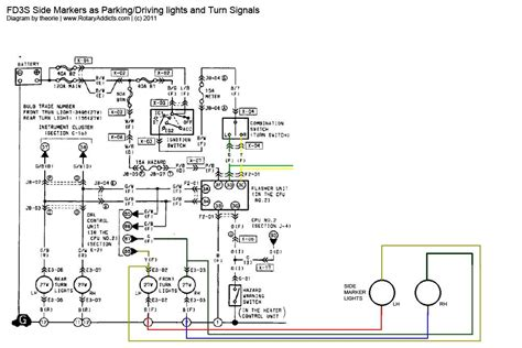 trailer side marker light wiring diagram trailer free