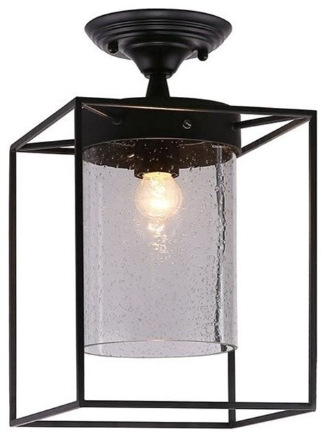 industrial flush mount ceiling light industrial flush mount l with matte black metal box