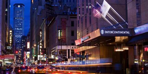 appartamenti new york times square luxury hotels in theater district intercontinental new