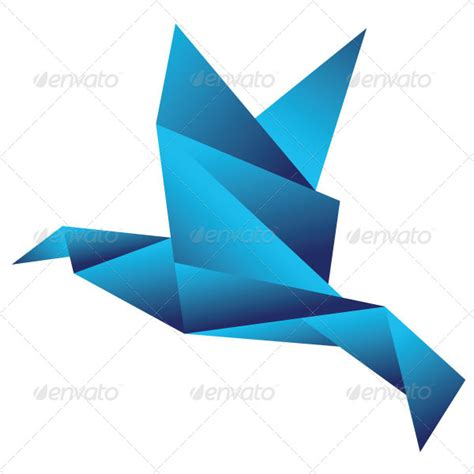 Origami Pack - origami birds pack by conflutech graphicriver