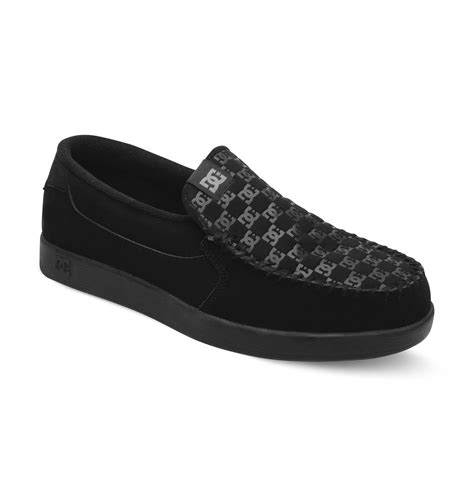 dc shoes slippers dc shoes s villain slip on shoes 301361 ebay