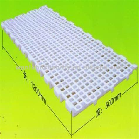 Kandang Acrylic plastic duck farm equipment poultry slat floor products china plastic duck farm equipment