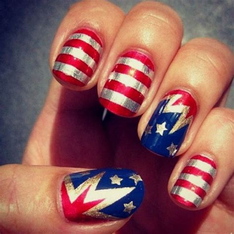 nails design usa 26 patriotic nail art designs to try at your fourth of