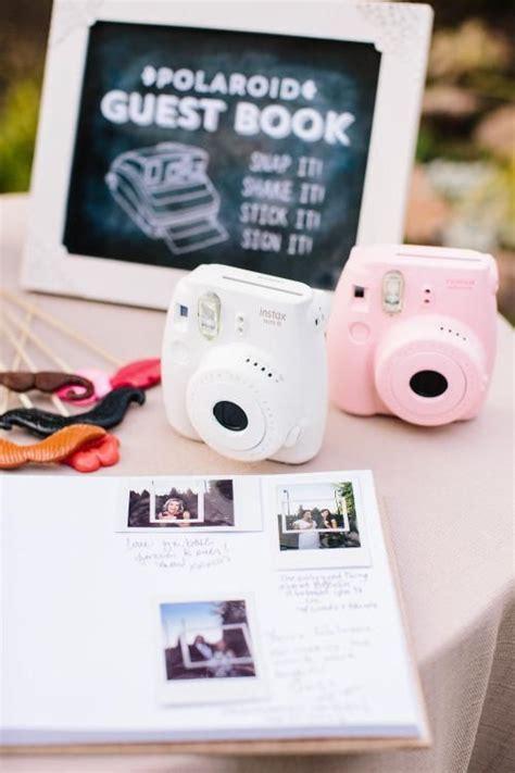 25  cute Polaroid guest books ideas on Pinterest