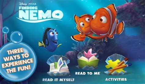 nemo apk finding nemo storybook deluxe apk 2 0 android and apps