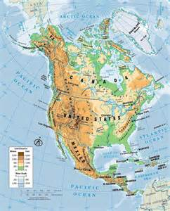 america physical map quiz mapa de america norte mapa f 237 sico geogr 225 fico