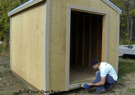shed trim how to install shed trim icreatables