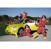 Clown Van Crash Car Full Of Clowns Not Laughing After