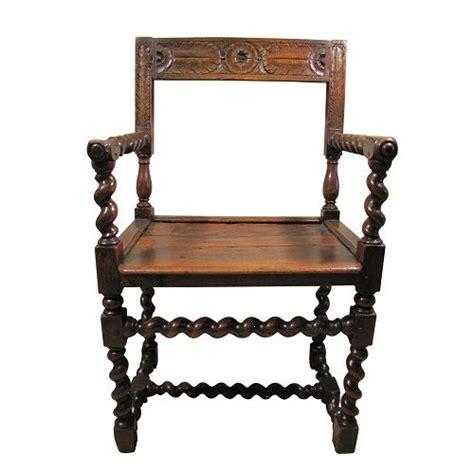 chaise louis xiii chaise 224 bras louis xiii 224 colonnes torsad 233 es 224 vendre