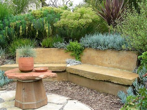 garden retaining wall bench 35 best images about outdoor seating on gabion