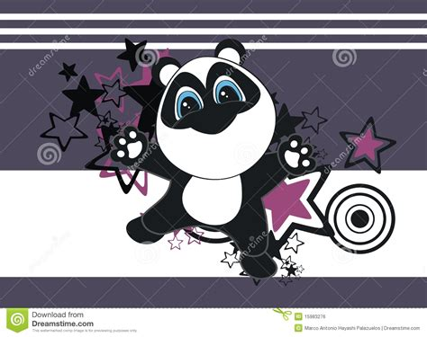 papel de parede animado papel de parede dos desenhos animados da panda imagem de