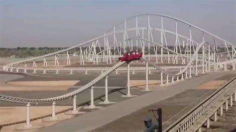 Ferrari Rollercoaster Abu Dhabi by Fastest Roller Coaster Ferrari World Abu Dhabi 1