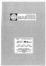 Manitou Workshop Manuals 2019 Repair Manuals For Manitou