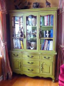 beautiful vintage china cabinet sold