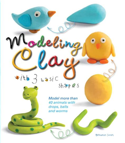 Review Nolita Molding Clay 3 by Modeling Clay With 3 Basic Shapes Book Review Giveaway