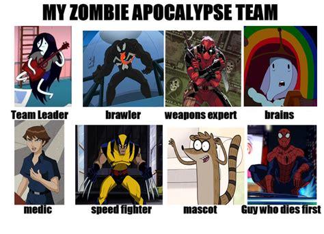 Zombie Team Meme - zombie apocalypse team blank instagram images