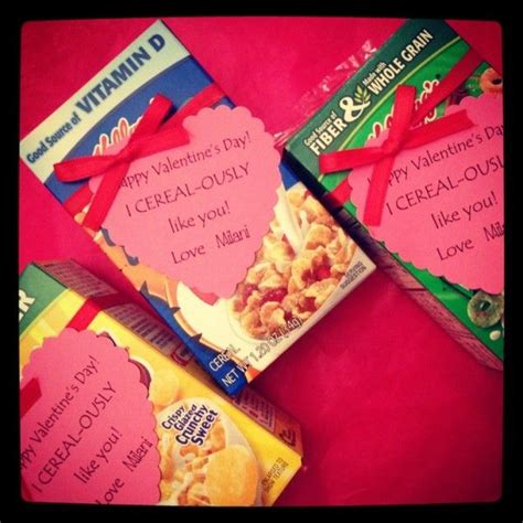 cereal box valentines 10 easy s ideas like you