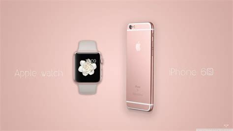 wallpaper apple watch for iphone rose gold wallpapers wallpaper cave