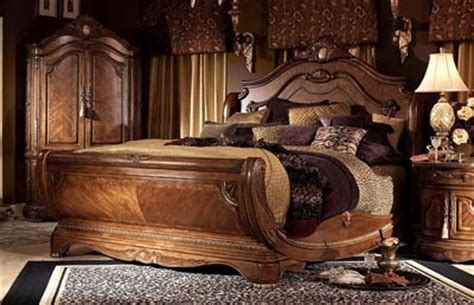 Cortina King Sleigh Bedroom Set by Aico Furniture Cortina California King Sleigh Bed