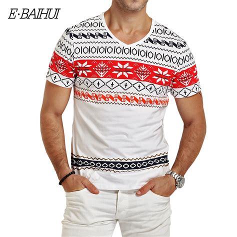 e baihui brand mens t shirts fashion printing clothing swag t shirts camiseta tops tees