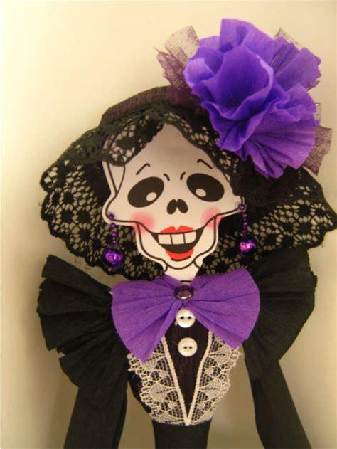 imágenes de calaveras vestidas la catrina elegante con sombrero y guante calaveras de