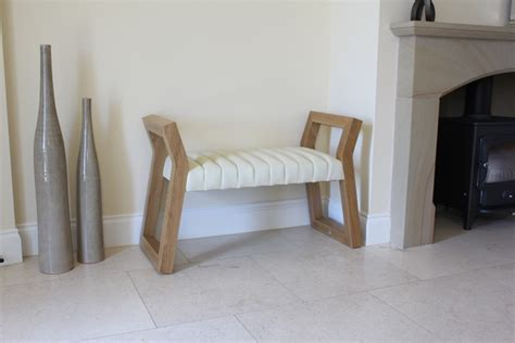 Small Cleopatra Bench In Walnut Bespoke Luxury Furniture