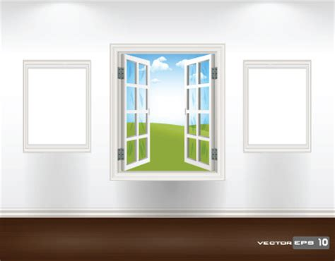 Different Windows Designs Different Plastic Window Design Elements Vector Free