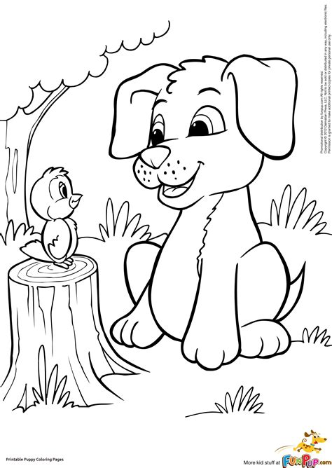 Collection of Coloring Page Puppy Leversetdujour Info | Puppy ...