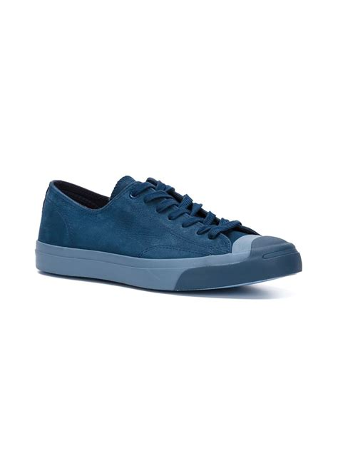 purcell sneakers converse purcell leather low top sneakers in blue for